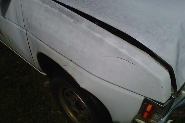 front bumper collision