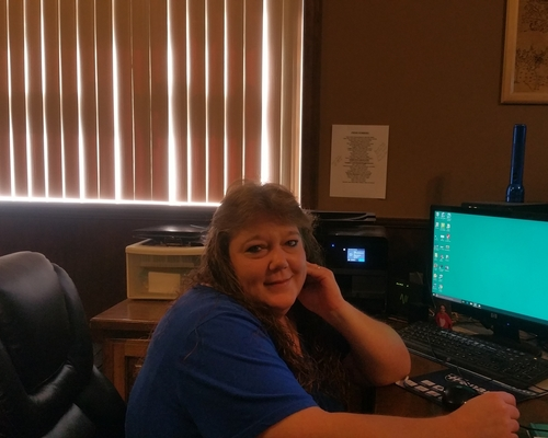tammy the office worker at B & C